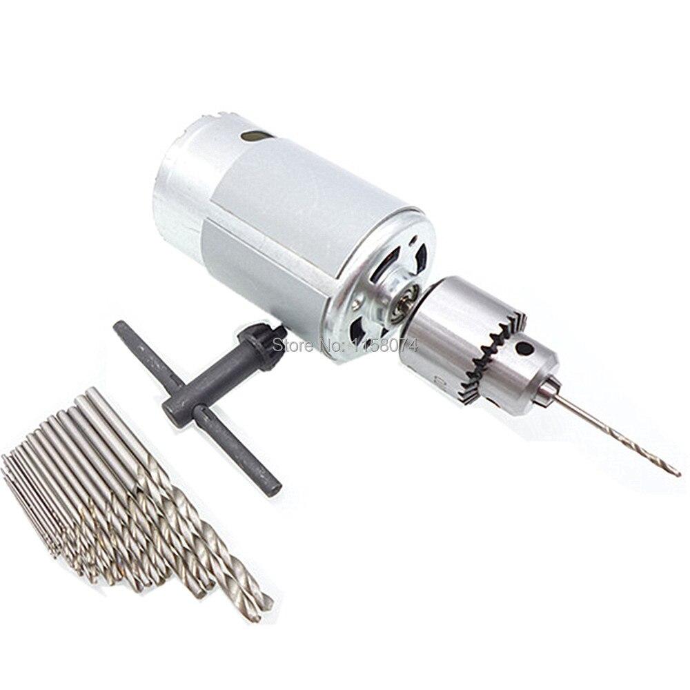 25pc Hss Twist Drill Bit Micro Model Craft Drill Bits 6