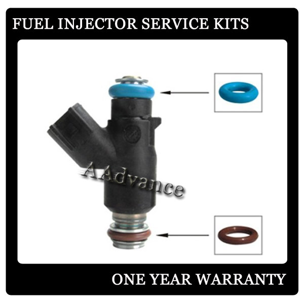 Car Fuel Injector Viton O Rings Rebuild Kit GB3 146 and GB3 125 Fuel Injector Service