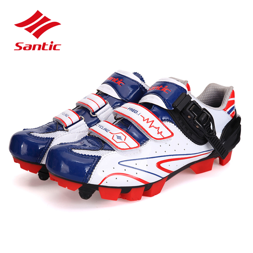 Santic Mountain Bike Shoes 2017 Professional Athletic Self-Locking Road Bike Cycling Shoes MTB Zapatillas Sapatilha Ciclismo tiebao professional bike cycling shoes unisex mtb mountain racing shoes waterproof athletic self locking zapatillas de ciclismo