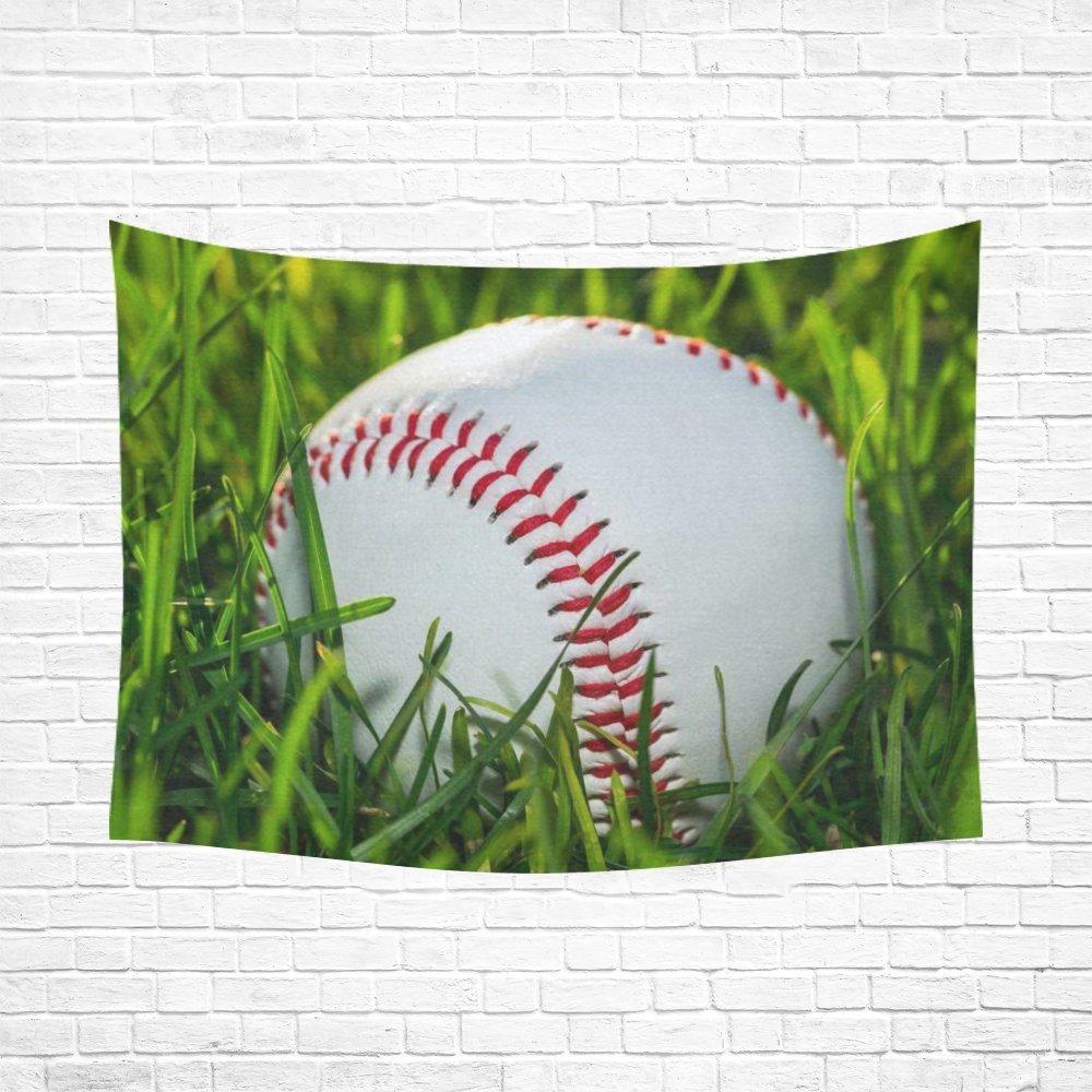 Baseball Home Decor: WARM TOUR Sports Home Decor Wall Art, Baseball Ball On