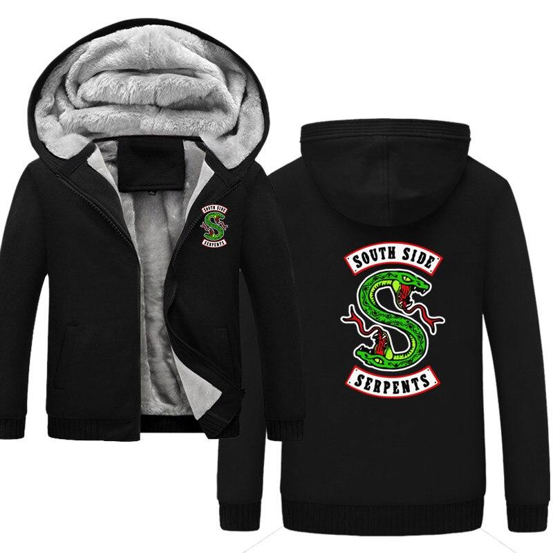 NEW Serpent Of Riverdale Hoodie Sweatshirt South Side Serpents Jumper Jacket Men