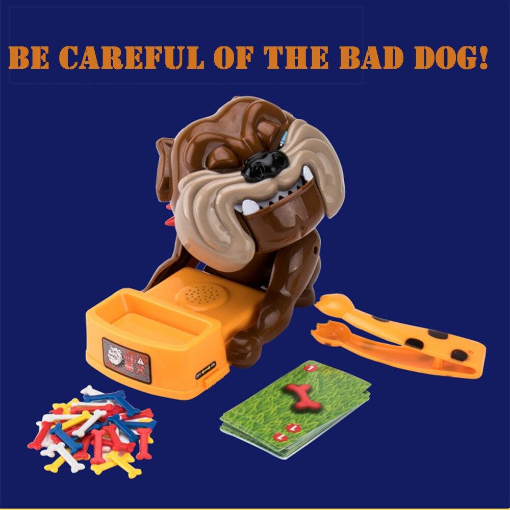Новые Tricky интерактивные настольная игра внимание злая собака антистресс забавные игрушки для свободного времени ...
