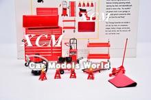 Modell Skala Miniaturen Garage Wesentliche Kit 1:18 (Rot) + KLEINE GESCHENK!!!