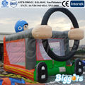 FREE shipping by sea Car Inflatable Bouncer Kid Inflatable Jumping Bouncer On Sale