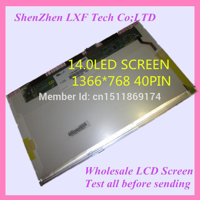 14.0 pantalla del ordenador portátil para asus k40 k401 k40in k40ab k41v k41 k42 K42E K42F K42J K42D K43S K43SJ K43T K43SD K45V K45VD pantalla lcd