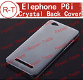 Elephone P6i + jiayu G5S+ Original white hard crystal Back Cover case in stock now free shipping with tracing number