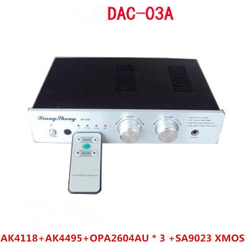 ZuverläSsig Dac Ak4118 Ak4495 Opa2604au 3 Sa9023 Xmos Bnc Coaxial Faser Usb 2.0 Hifi Galle Rohr Digitale Audio Amp ZuverläSsige Leistung Unterhaltungselektronik