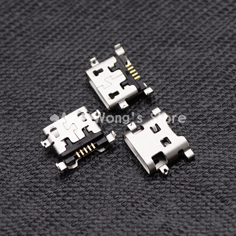 10pcs Micro USB 5pin B type Female Connector For Mobile Phone Micro USB Jack Connector 5 pin Charging Socket 10x mini usb type b 5pin female connector adapter for mobile phone mini usb jack connector 5 pin charging socket plug hy1374 10
