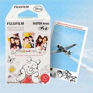 Image 4 - Genuine Fuji Fujifilm Instax Mini Filme Winnie Pooh 10 Folhas Para 9 9 8 7s 90 25 dw 50i 50s Partes SP 1 SP 2 Liplay Câmera Instantânea