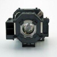 Lâmpada Do Projetor Original EP42 Para EMP 83HE/PowerLite 822 p/PowerLite 83c/EMP 400/EMP 400e/EB 410We/ h371A/EMP 280|projector lamp house|lamp android|projector lamp for epson -