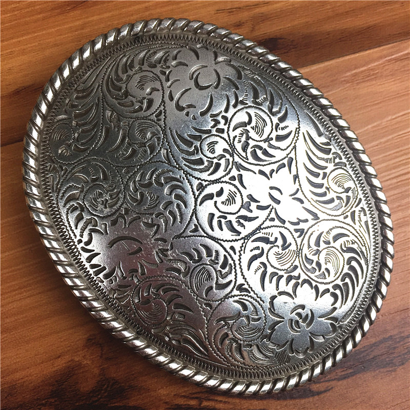 Top Quality Luxury Alloy Belt Buckle Vintage Arabesque Male Belt Buckle For Man Leather Belt AK0033