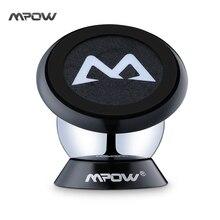 Mpow mcm18 черный 360 градусов произвольное поворотный поворотный липким магнитного мини держатель для iphone 7 6 s 6 plus samsung huawei