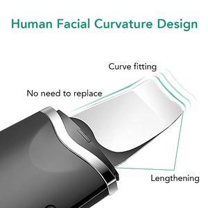 Image 4 - פנים עור Scrubber חטט Remover, עור פנים נקבובית ניקוי IP6X עמיד למים USB מטען, עיסוי פנים הרמת כלי