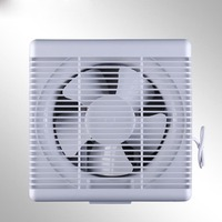 One-way air pressure of exhaust fan shutters strong exhaust fan kitchen smoke lampblack exhauster