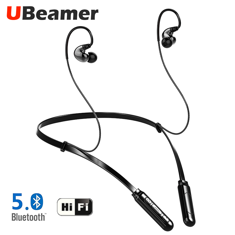 Ubeamer Z5 Bluetooth v5.0 earphone In ear, waterproof 6D sound Wireless headset for sports music phone (Two earphones option/Q9)Ubeamer Z5 Bluetooth v5.0 earphone In ear, waterproof 6D sound Wireless headset for sports music phone (Two earphones option/Q9)