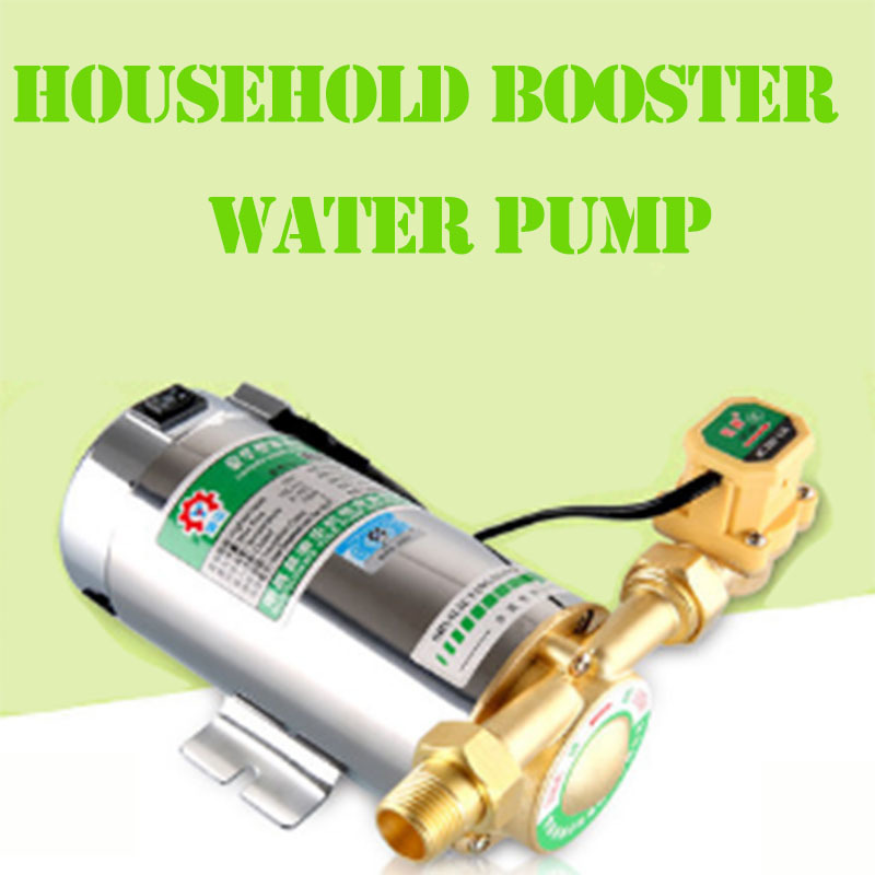 9.19100W Mini Household Booster Water Pump for Shower Heating 100w 220v shower booster water pump