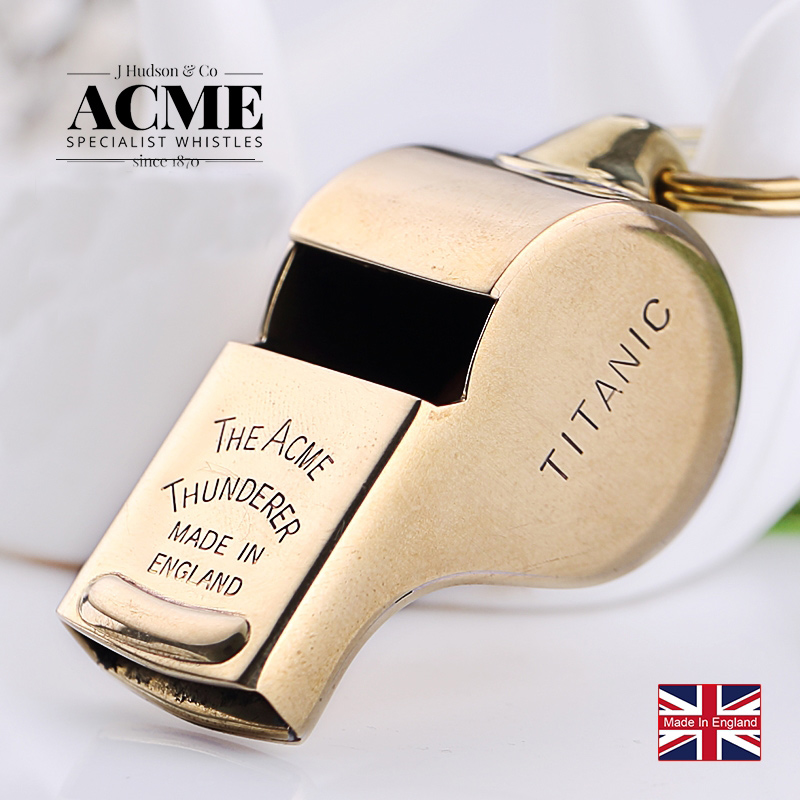 ACME Titanic 58 Outdoor emergency survival cheerleading whistle basketball football volleyball referee coach special whistle