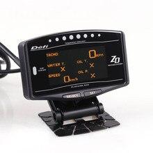 Автоматический датчик 10 в 1 новая версия DEFI Advance ZD Link Meter Цифровой тахометр вольт скорость температура воды и масла пресс boost