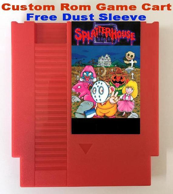 SplatterHouse HolyDiver SamuraiPizzaCats ZombieNation Custom make SINGLE Game Cartridge for NES Free Dust Sleeve_640x640 aliexpress com buy splatterhouse, holydiver, samuraipizzacats  at fashall.co