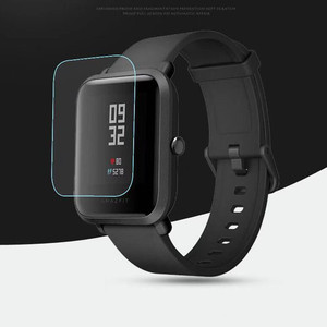 Image 5 - 10 Pcs Groothandel Originele Voor Xiaomi Huami Amazfit Bip Screen Protectors Ultra Dunne Beschermende Film Full Hd Tpu Smart horloge