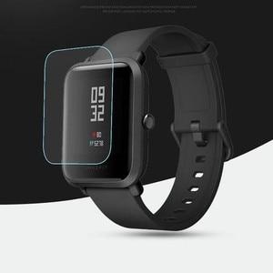 Image 5 - 10pcs wholesale original for xiaomi huami Amazfit bip Screen Protectors ultra thin protective film full HD TPU smart watch