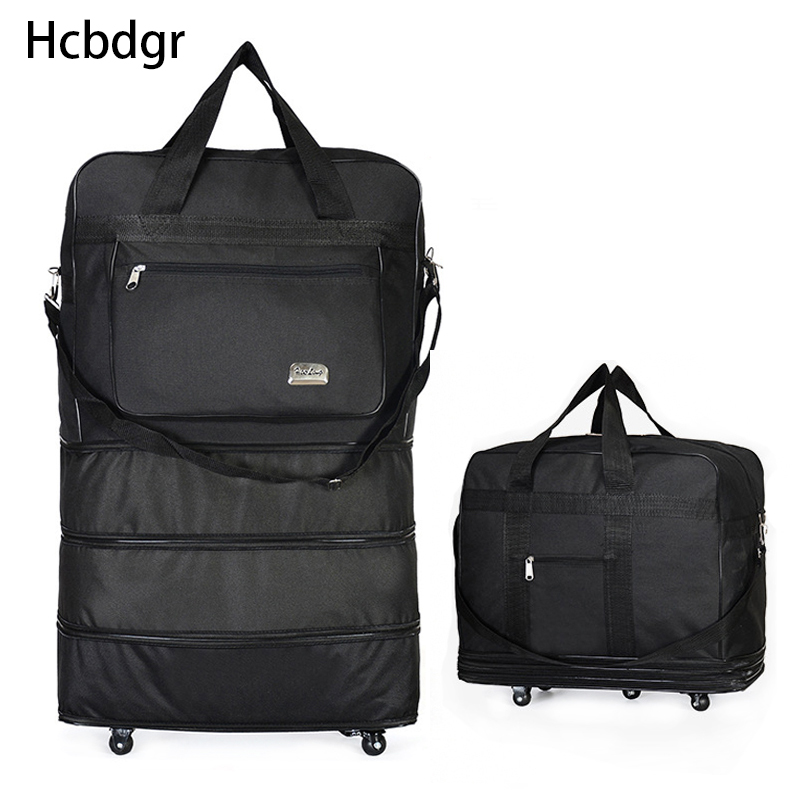Rolling Suitcase Air Carrier Bag