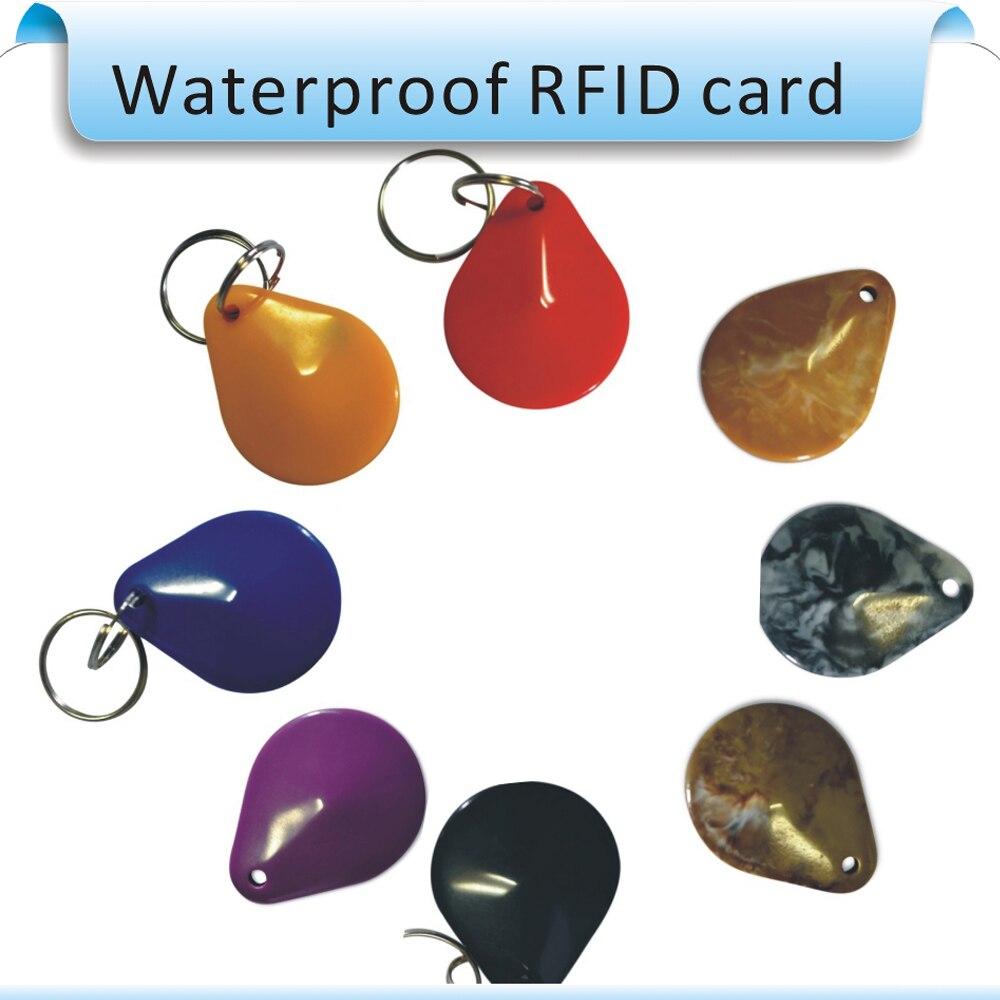 Wholesale - 100pcs RFID IC re-writable keys 13.56MHz Proximity IC Card Keyfobs Access Control, IC smart car Keys 100pcs rfid card 13 56mhz mfs50 re writable proximity smart card nfc card 0 8mm thin for access control system
