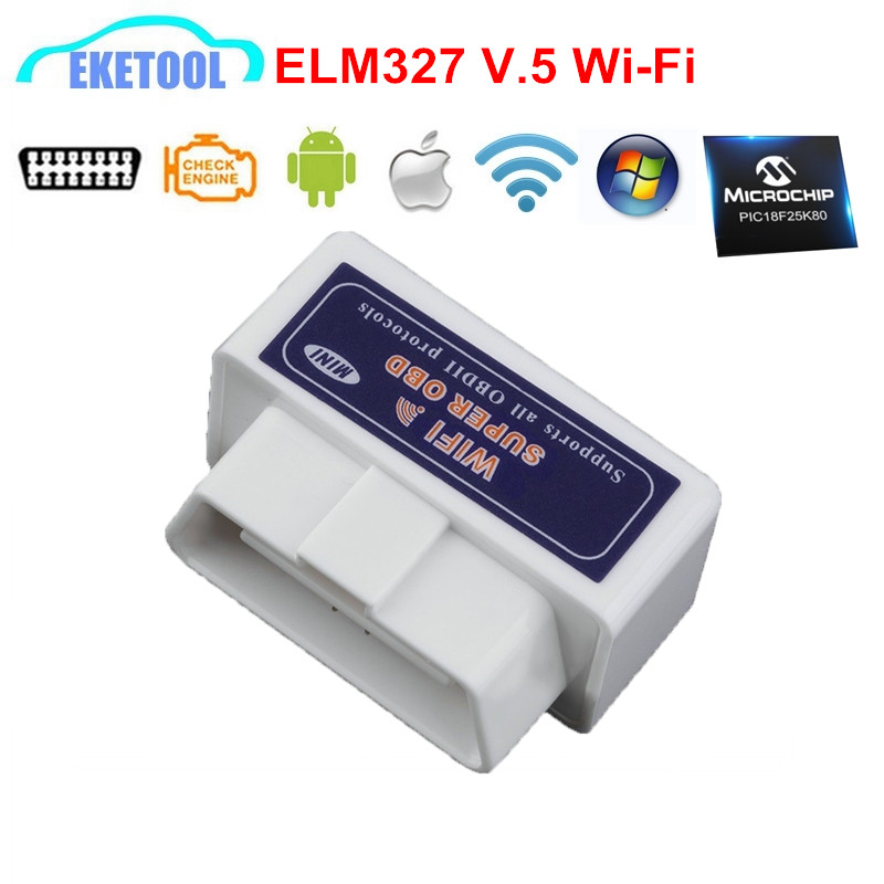 wifi super obd elm327 v1 5 pic18f25k80 car diagnostic. Black Bedroom Furniture Sets. Home Design Ideas