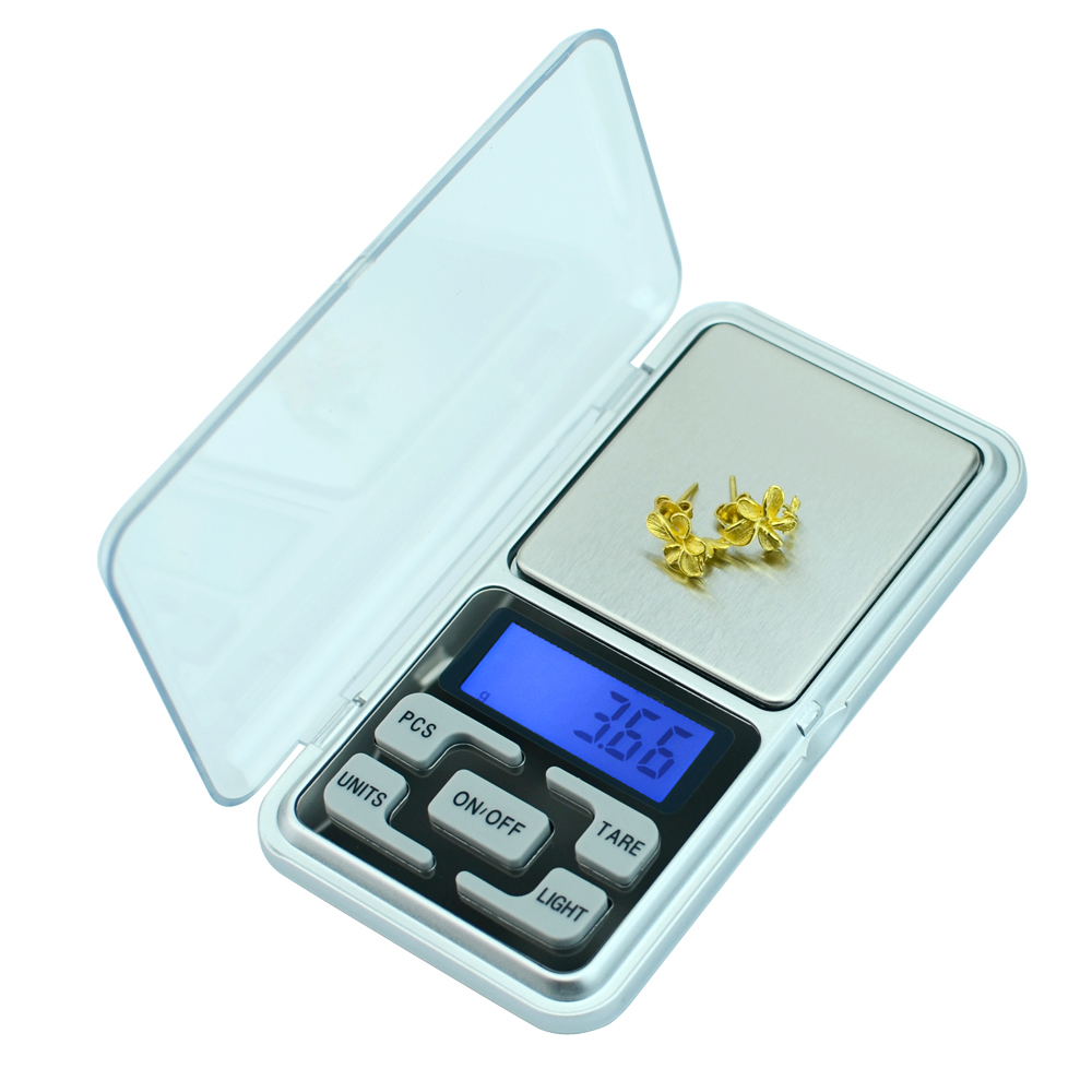 Mini Digital Pocket Scale for Gold Bijoux Sterling Silver Diamond 0.01 Jewelry Scales Electronic Balance 200g/300g/500g Весы