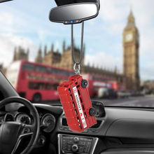 купить Bemost Car pendant Bus Hanging Ornaments Automobiles Rearview Mirror Suspension Decoration  Auto Accessories Styling Gifts по цене 197.35 рублей