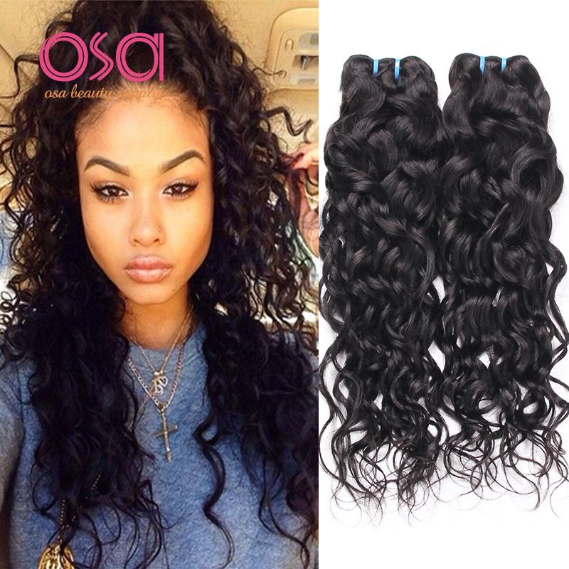 Tremendous Aliexpress Com Buy Brazilian Virgin Hair Ocean Wave Brazilian Short Hairstyles Gunalazisus