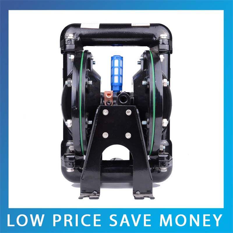 Aluminum Double Way Pneumatic Diaphragm Pump For Ink and Glue Big Capacity Waste Water Pump aro ingersoll rand pneumatic diaphragm pump 1 1 2 metal pump housing 666170 3eb c