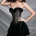 Burlesque leopard corset sexy Lingerie fashion Animal Corset Wholesale bustier