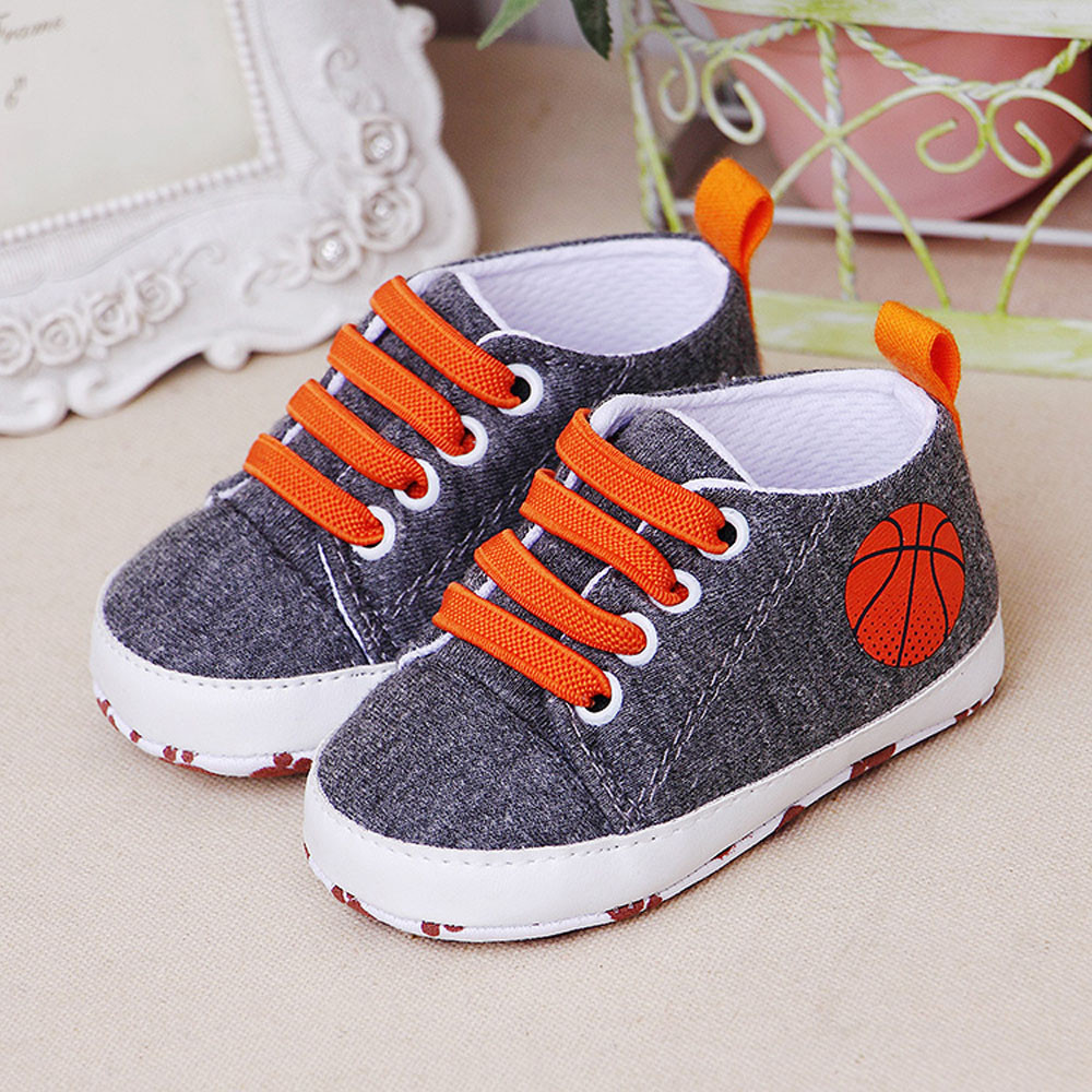 Sneakers Shoes Prewalker Canvas Infant Girls Baby Boys Cartoon Fashion Casual Soft Flats