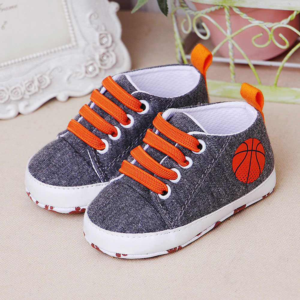 Newborn Shoes Infant Baby Cartoon Girls Boys Soft Prewalker Casual Flats Canvas Sneakers Shoes Fashion Causal First Walkers