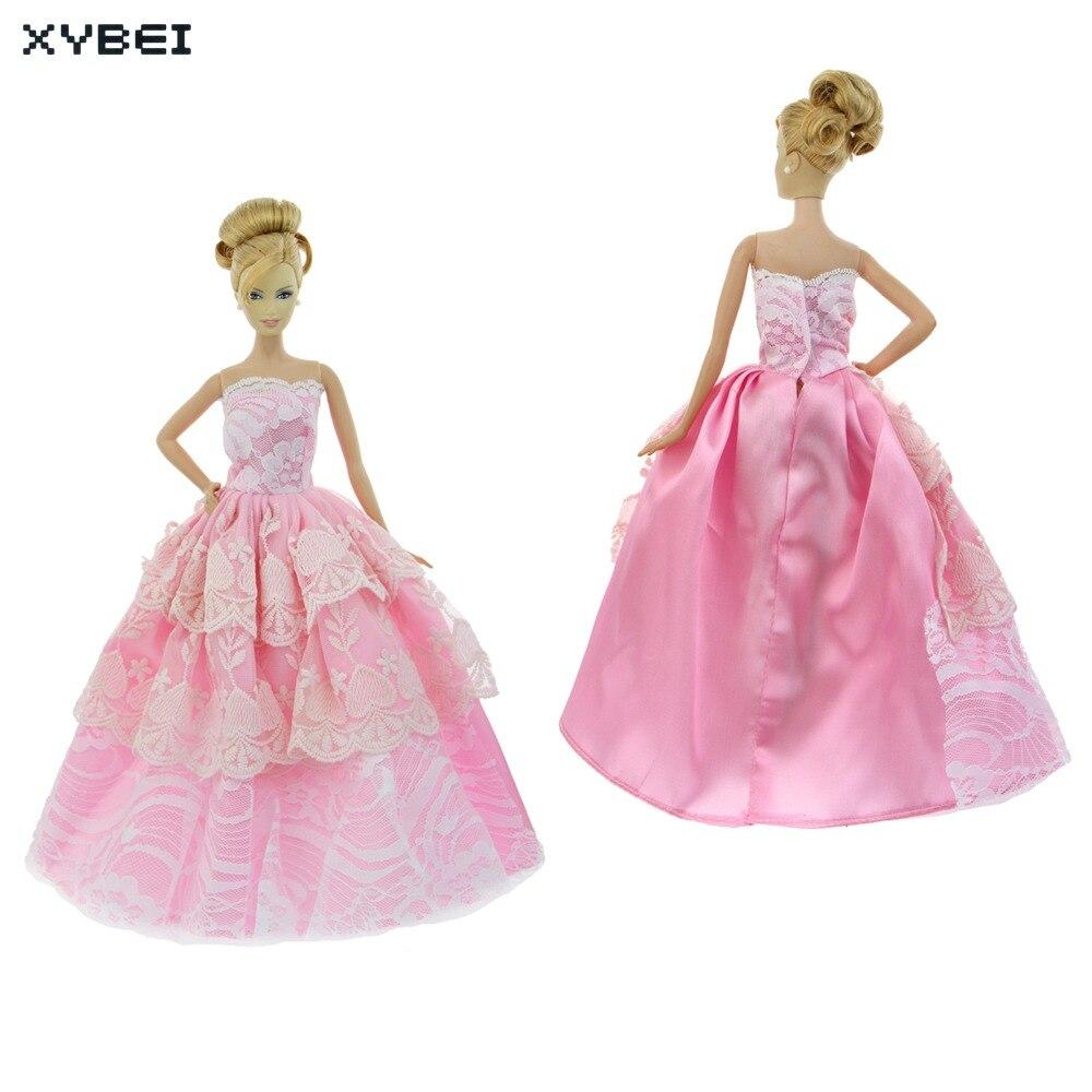 Hecho a mano de Color Rosa Vestido de Fiesta de La Boda Vestido de ...