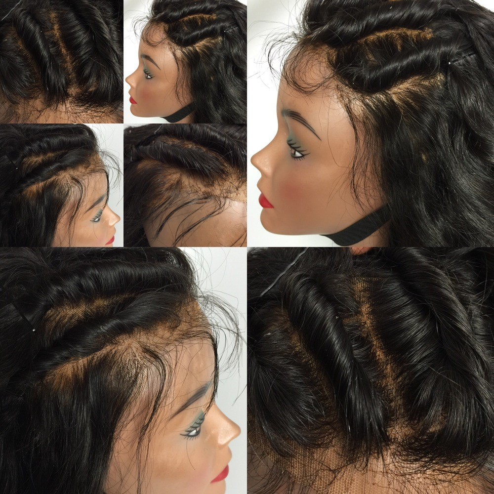 180% Density Natural Wave Human Hair Full Lace Wigs With Baby Hair Pre Plucked Brazilian Remy Full Lace Remy Hair Wigs For Women
