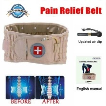 Lumbar Spinal air Decompression Back Belt Air Traction Waist Protect Belt Pain Lower Lumbar Support& Extender Belt Best