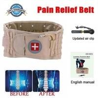 Lumbar Spinal air Decompression Back Belt Air Traction Waist Protect Belt Pain Lower Lumbar Support& Extender Belt Best