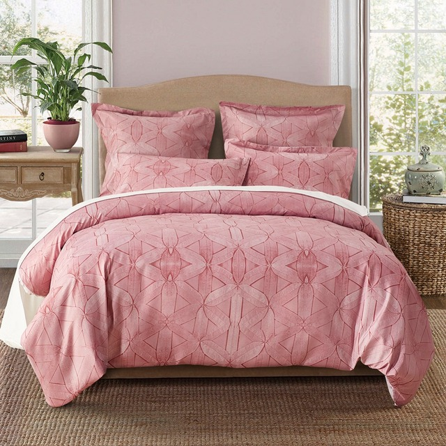 Luxury Bed Cover 3pcs Us Uk Ru Size Bedding Set For Twin Queen Single
