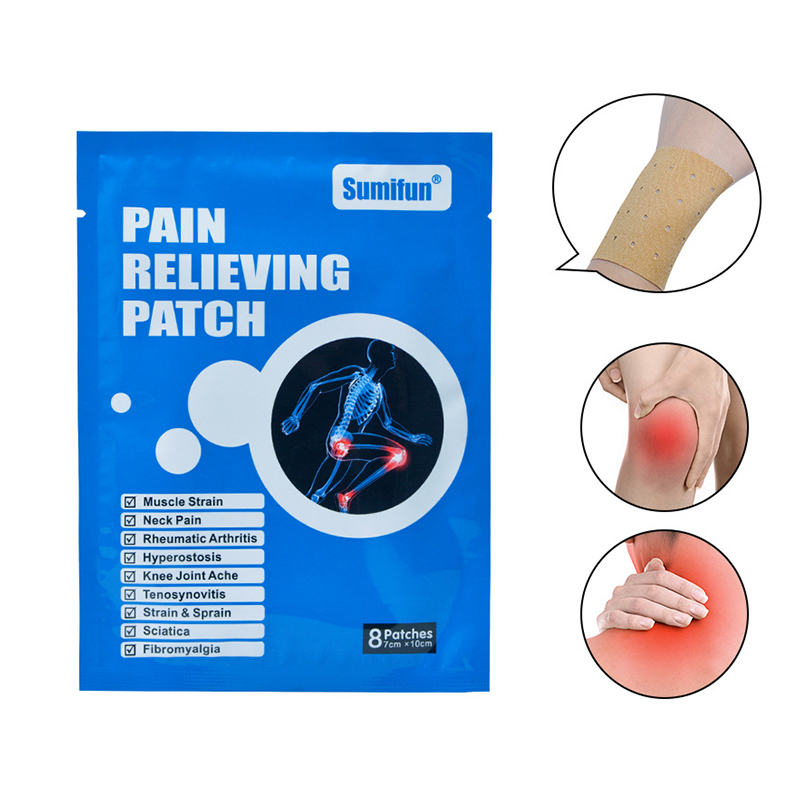 8 Pcs Pain Reliefe Patch Elimination of inflammation Patch Chinese Medical Plaster Shoulder Waist Leg Joint Pain Reliefe Patch