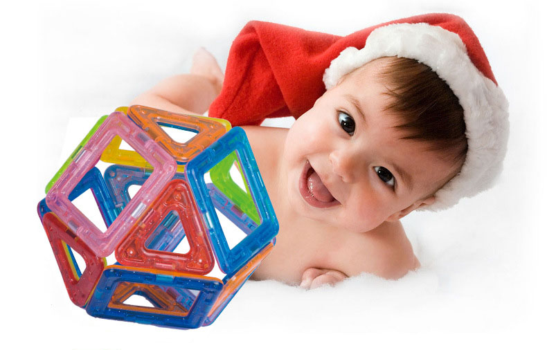 БД 58-252 шт. мини магнит строительными конструктор набор модель и строительство игрушки пластик магнит constructor образования игрушечные нагрузки для подарок для детей