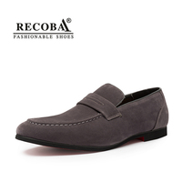 Men Summer Casual Shoes Plus Size 11 12 Grey Velvet Suede Leather Tassel Penny Loafers Moccasins