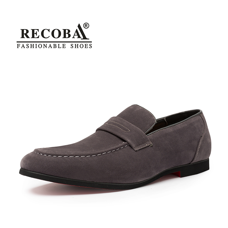 Men summer casual shoes plus size 11 12 grey velvet suede leather tassel penny loafers moccasins slip ons wedding dress shoes black real leather 2017 mules summer brown european loafers men genuine shoes moccasins half male casual slip ons hot sale page 8