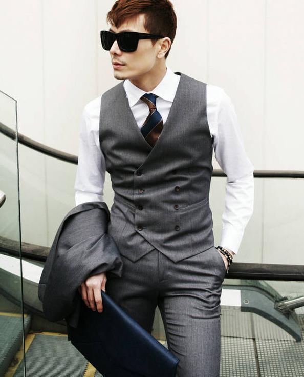 Aliexpress.com : Buy Men's Clothing British Style Slim Colete ...