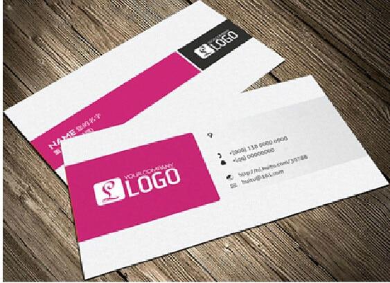 Online shop custom business cards elegant paper bussiness card custom business cards elegant paper bussiness card printing color edge business cards visit cards printing 500pcslot colourmoves