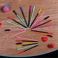 1000 pçs/lote Maquiagem Escovas cílios Descartáveis Cores Diferentes Escolher Silicone Mascara Aplicador Wand Compo a Escova