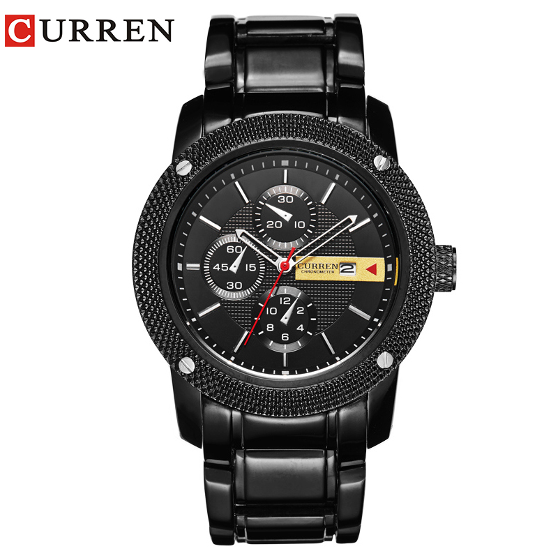 Curren 8069 Роскошные Спортивные - Мужские часы