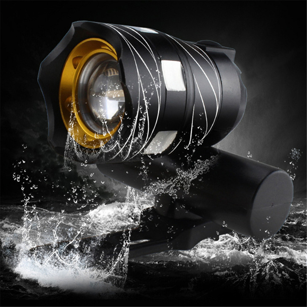 Bicycle bike headlights USB charging waterproof mountain bike lights LED strong light bisiklet aksesuar luz bicicleta luces #SW