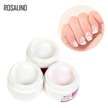 ROSALIND Poudre Acrylique Crystal Polymer Nail art Builder Faux Conseils Outils Nail art Conseils Builder Manucure Ongles Polymer Nail Outils(China)